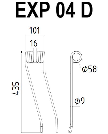 Plan EXP 04 D